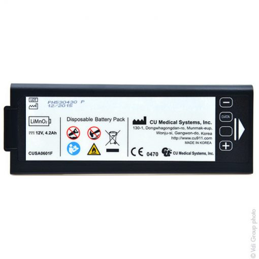 iPad NF1200 Defibrillator Battery