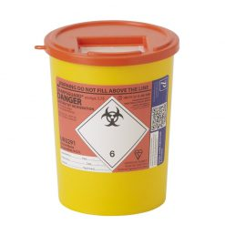 Orange 3.75l Sharps Bin