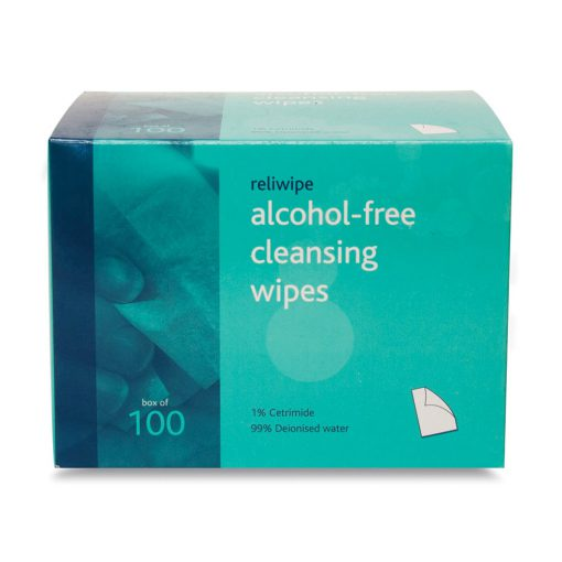 ReliWipe Alcohol Free Wipes (100)